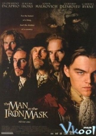 Phim Mặt Nạ Sắt - The Man In The Iron Mask (1998)