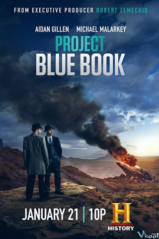 Truy Tìm Ufo 2 - Project Blue Book Season 2 (2020)